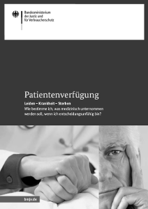 """Broschüre """"Patientenverfügung"""""""