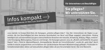 "Flyer ""Infos kompakt"""