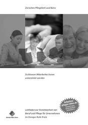 """Broschüre """"Leitfaden Beruf und Pflege für Unternehmen"""""""