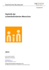 """Statistik der schwerbehinderten Menschen """"des statistischen Bundesamtes"""""""