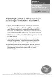 "Merkblatt ""Betriebsvereinbarung"""